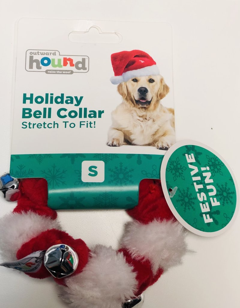 Outward Hound | Holiday Bell Collar Smll