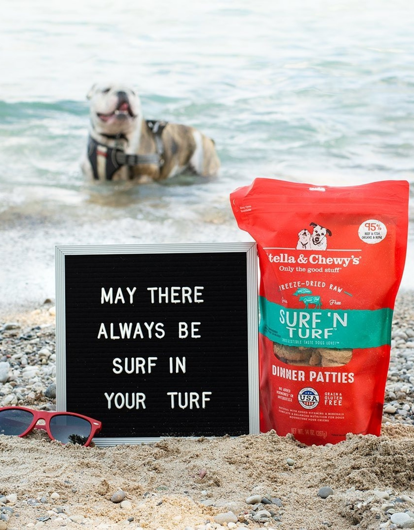 STELLA & CHEWY'S Stella & Chewy's | Freeze Dried Patties Surf & Turf
