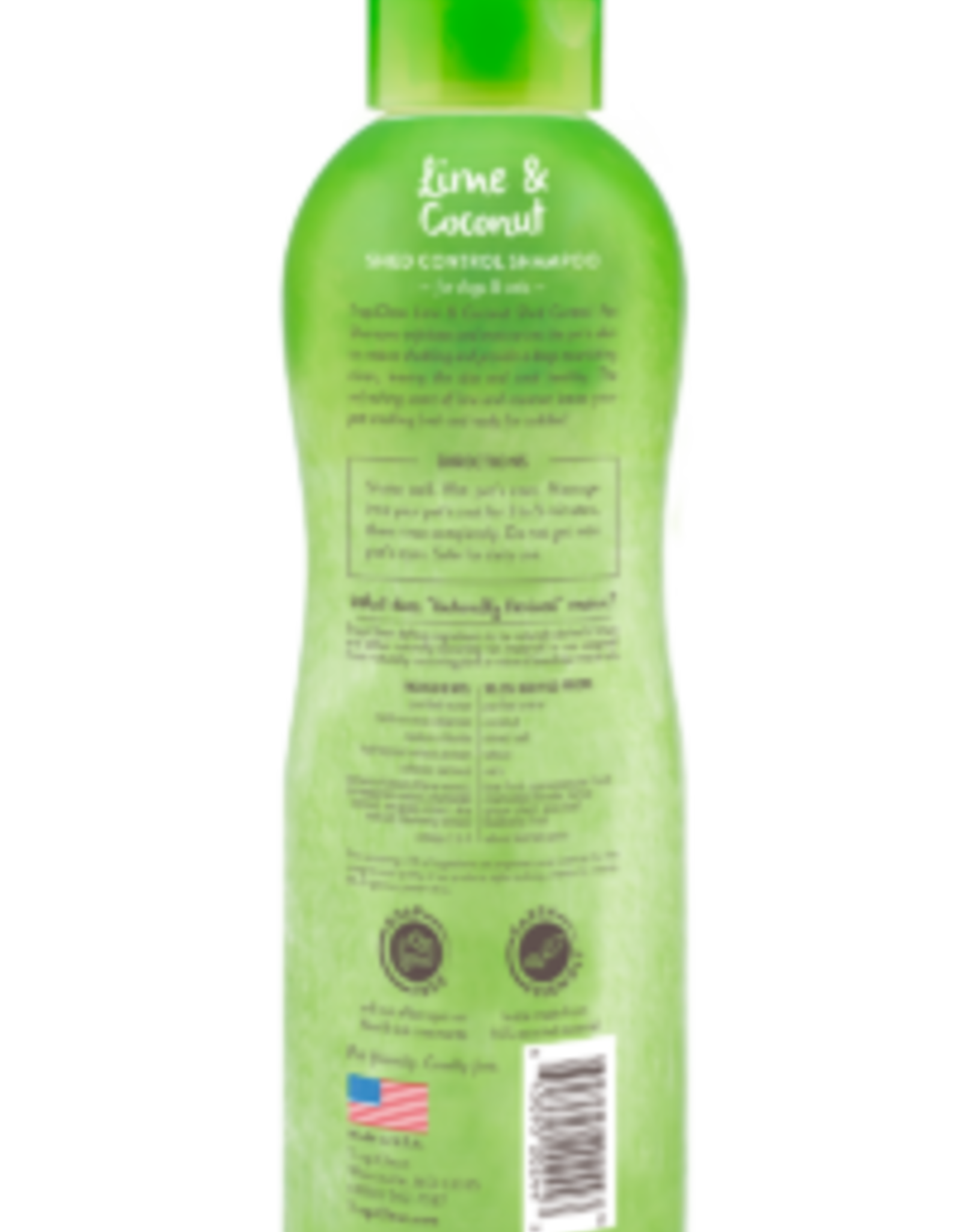 TROPICLEAN TropiClean   Lime & Coconut Deshedding Pet Shampoo