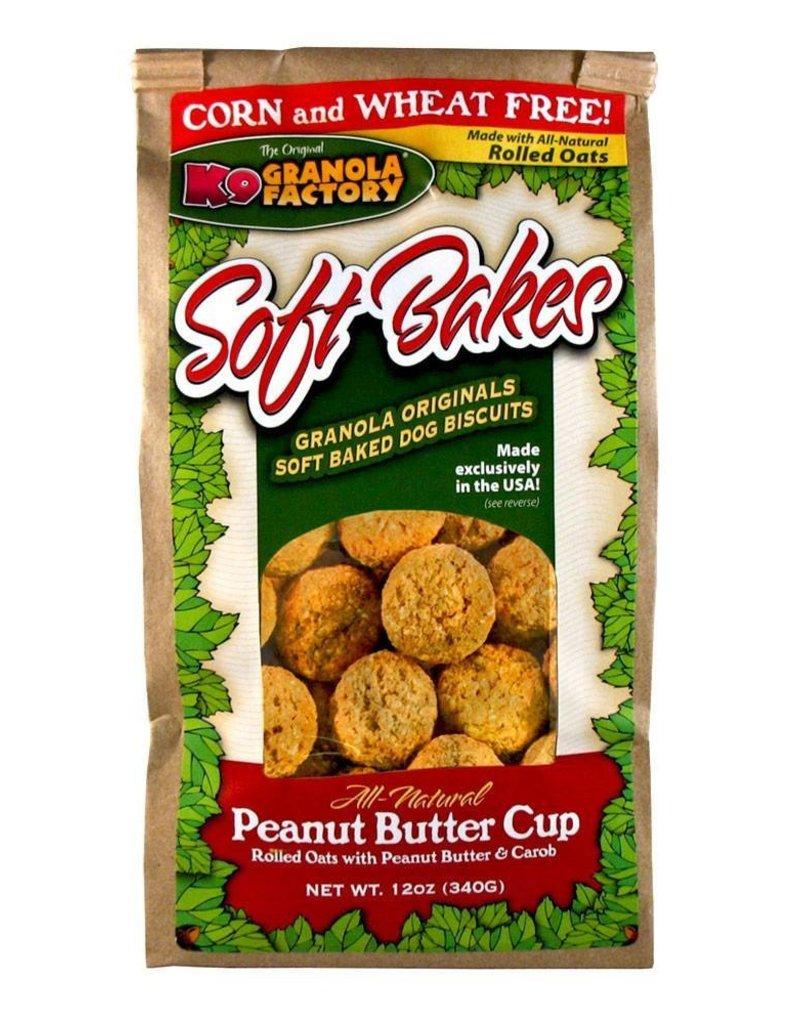 K9 Granola Factory K9 Granola | Treats Soft Bakes Peanut Butter Cup 12 oz