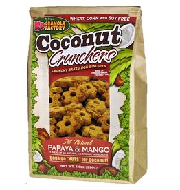 K9 Granola Factory K9 Granola | Treats Crunchers Coconut Papaya & Mango 14 oz