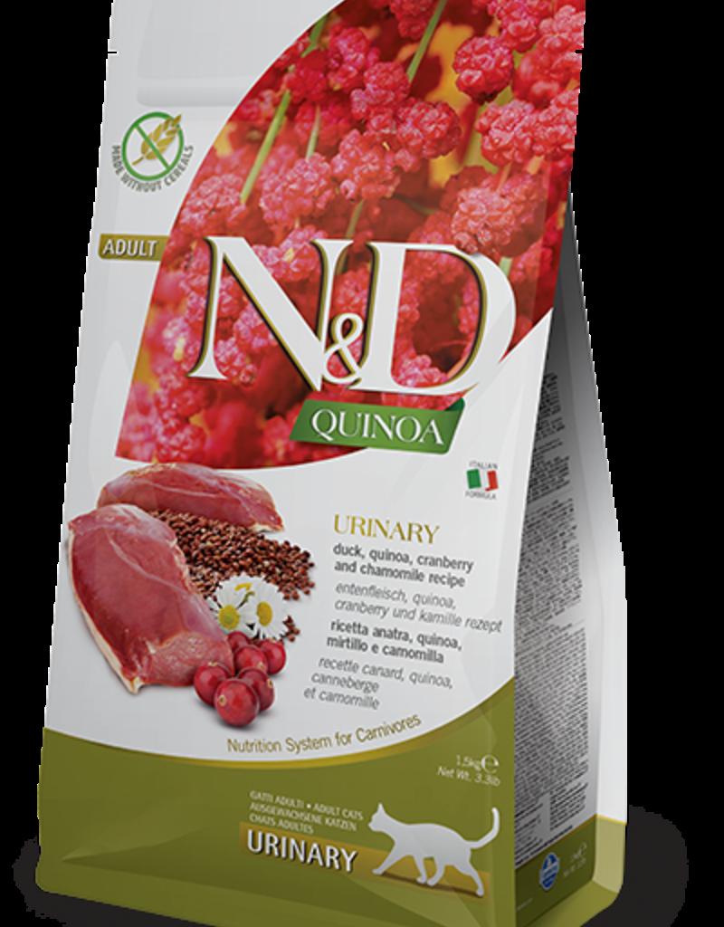 Farmina   N&D Quinoa Urinary Duck Cat 3.3 lb