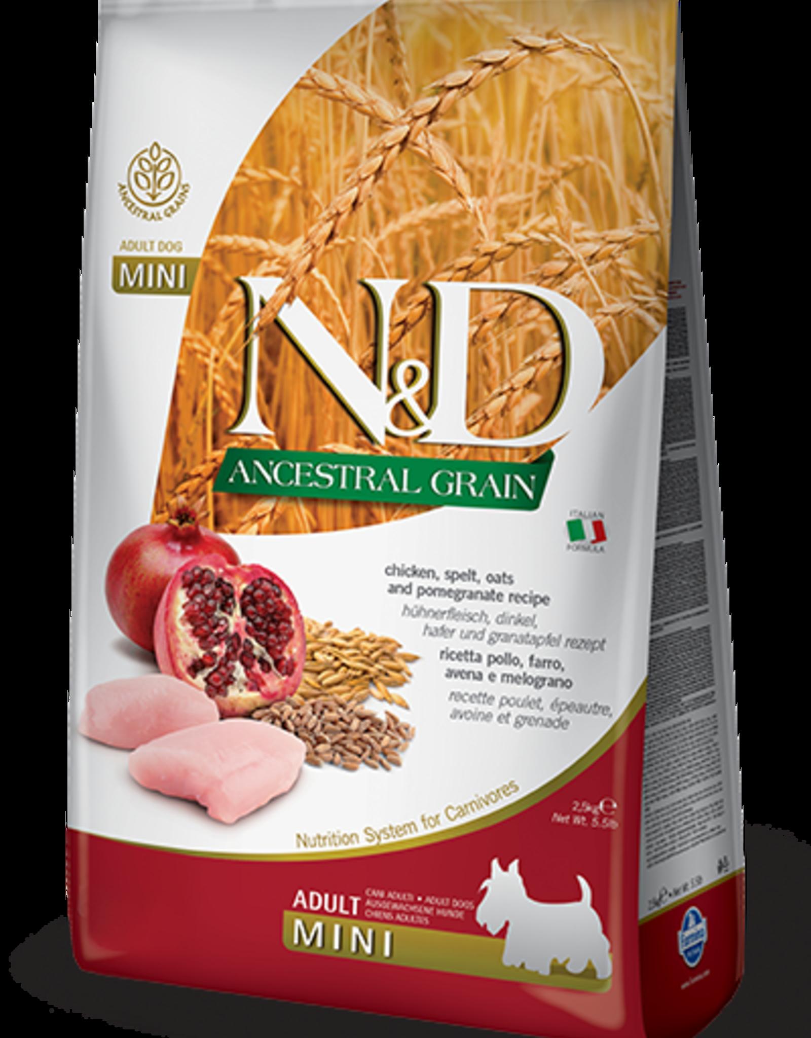 Farmina Farmina Ancestral Grain | Chicken, Spelt, Oats & Pomegranate Adult MINI