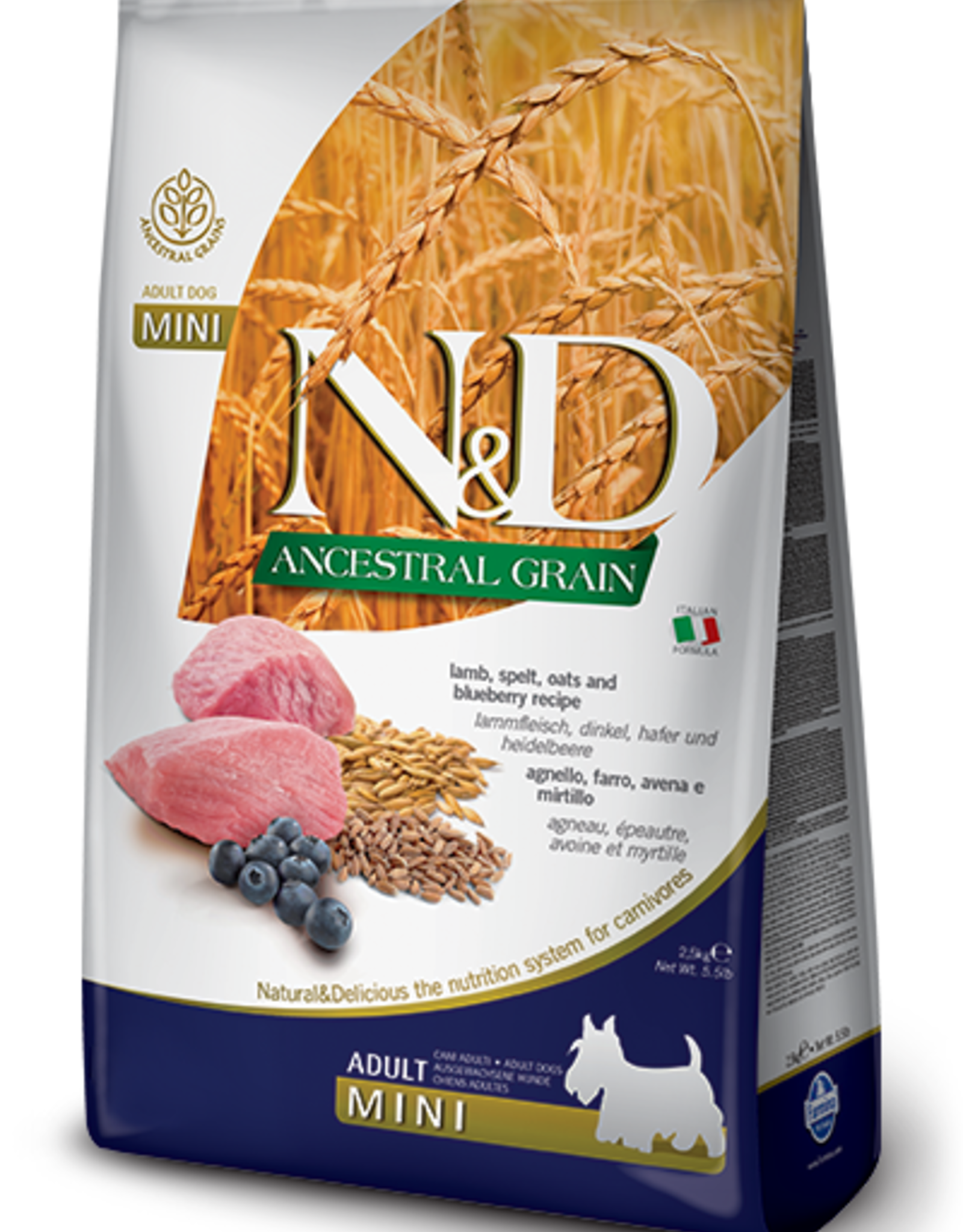 Farmina Farmina | Ancestral Grain Lamb & Blueberry ADULT MINI