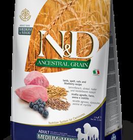 Farmina Farmina Ancestral Grain | Lamb & Blueberry Adult Med & Maxi 26.4 lb
