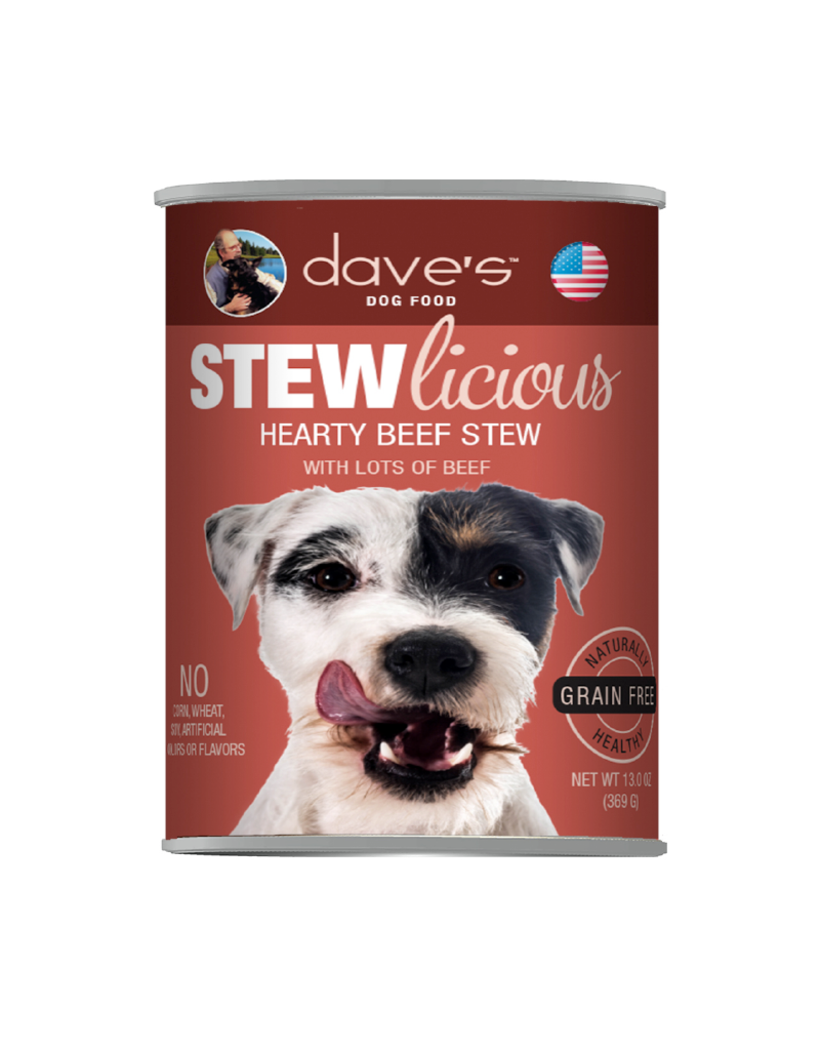 DAVE'S PET FOOD Dave's | Stewlicious Hearty Beef Stew Canned Dog Food