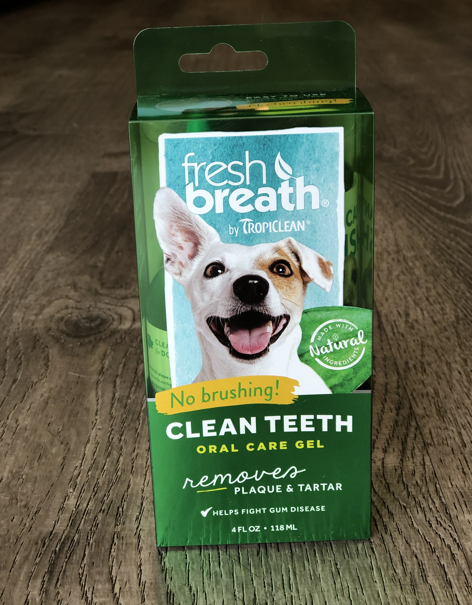 TROPICLEAN Tropiclean | Fresh Breath Clean Teeth oral Gel 4 oz
