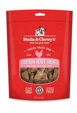 STELLA & CHEWY'S Stella & Chewy's Freeze Dried Chicken Heart Treats 3OZ