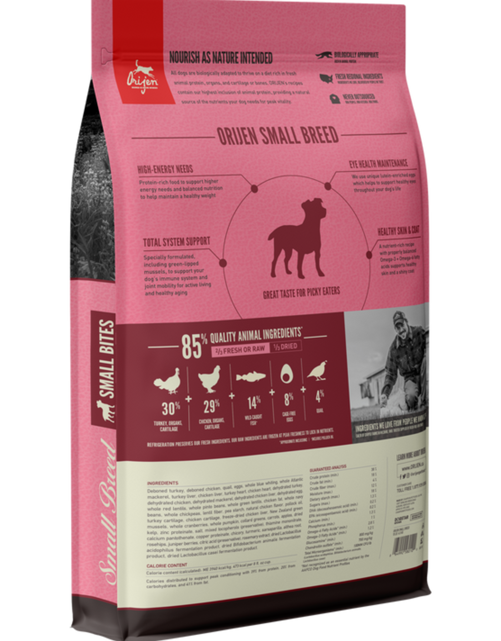 ORIJEN Orijen | Small  Breed Small Bites Dog Food 4 lb
