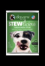 DAVE'S PET FOOD Dave's | Stewlicious Turducken Stew Canned Dog Food 13.2oz