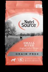 NUTRI SOURCE Nutri Source   Grain Free Small Bites Seafood Select Recipe 5 lb