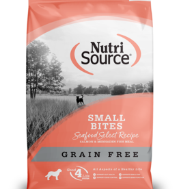 NUTRI SOURCE Nutri Source | Grain Free Small Bites Seafood Select Recipe 5 lb
