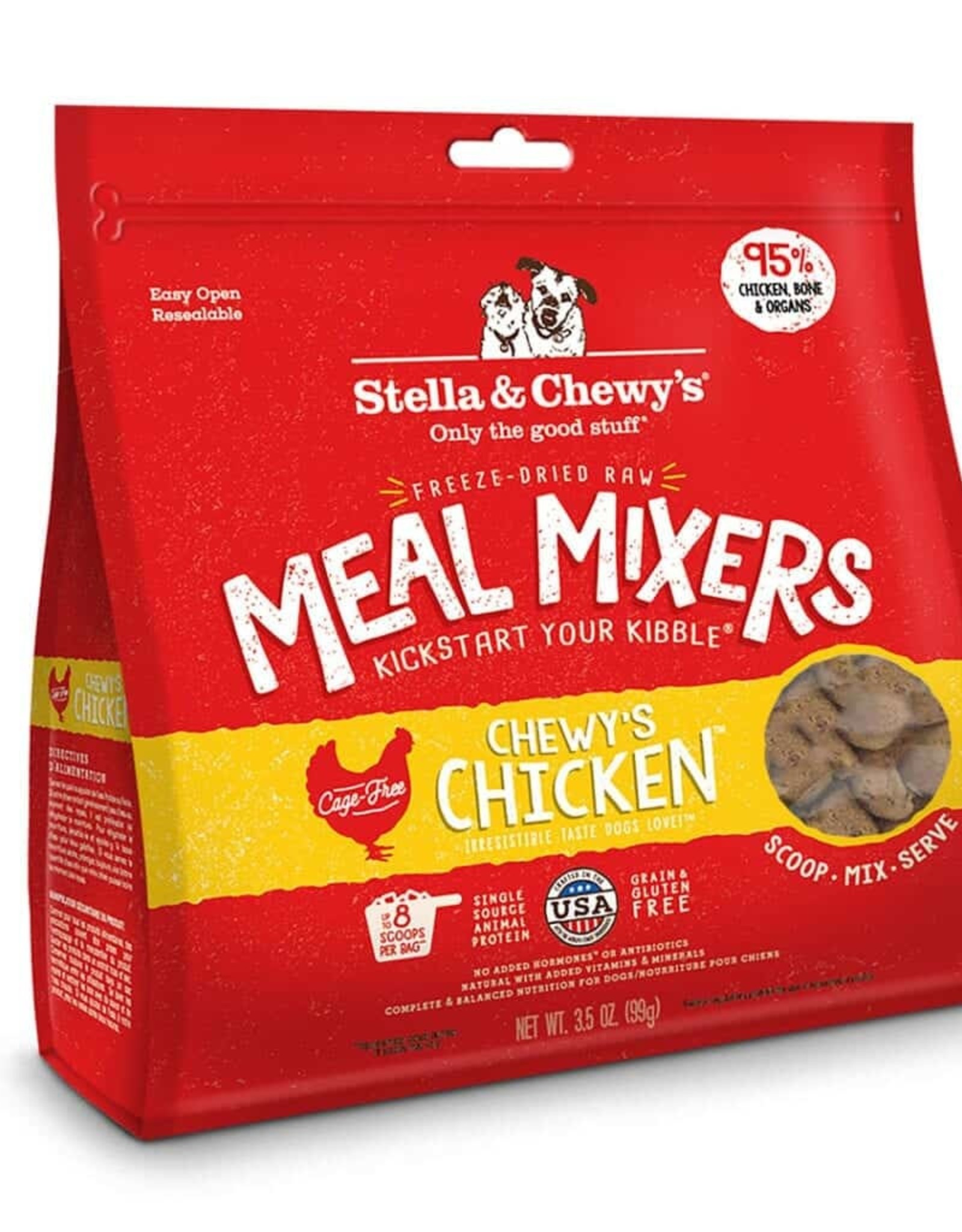 STELLA & CHEWY'S Stella & Chewy's   Meal Mixers 3.5 oz