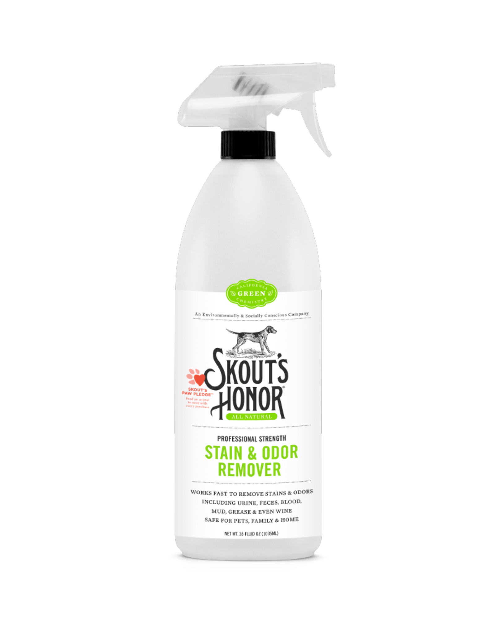 Skout's Honor Skout's Honor Stain & Odor Remover 35 oz Green Label