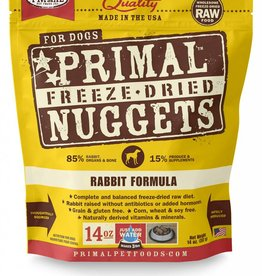 PRIMAL PET FOODS Primal | Freeze Dried Canine 14 oz Rabbit Formula