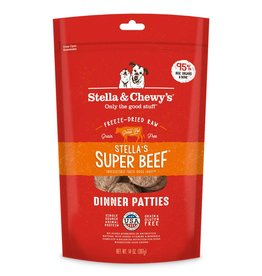 STELLA & CHEWY'S Stella & Chewy's   Freeze Dried Patties Super Beef