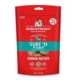 STELLA & CHEWY'S Stella & Chewy's   Freeze Dried Patties Surf & Turf