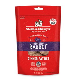 STELLA & CHEWY'S Stella & Chewy's   Freeze Dried Patties Absolutely Rabbit