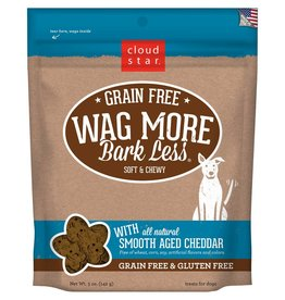 Cloud Star | Wag More Bark Less with Smooth Aged Cheddar Soft & Chewy 5oz
