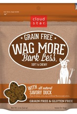 Cloud Star | Wag More Bark Less with Savory Duck Soft & Chewy GF 6oz