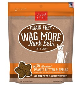 Cloud Star | Wag More Bark Less with Peanut Butter & Apples Soft & Chewy 5oz