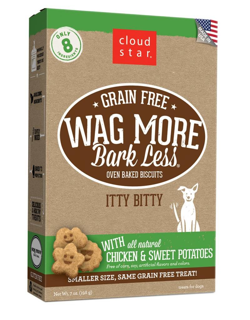 Cloud Star   Wag More Bark Less with Chicken & Sweet Potatoes Crunchy