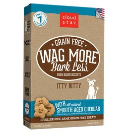 Cloud Star | Wag More Bark Less with Smooth Aged Cheddar Crunchy 7oz