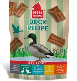 PLATO PET TREATS Plato | Real Strips Duck Recipe