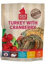 PLATO PET TREATS Plato | Real Treats Turkey With Cranberry