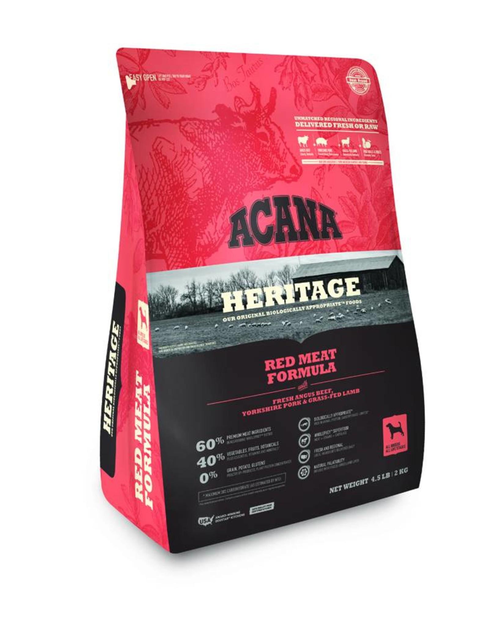ACANA Acana Heritage   Red Meats Dog Formula
