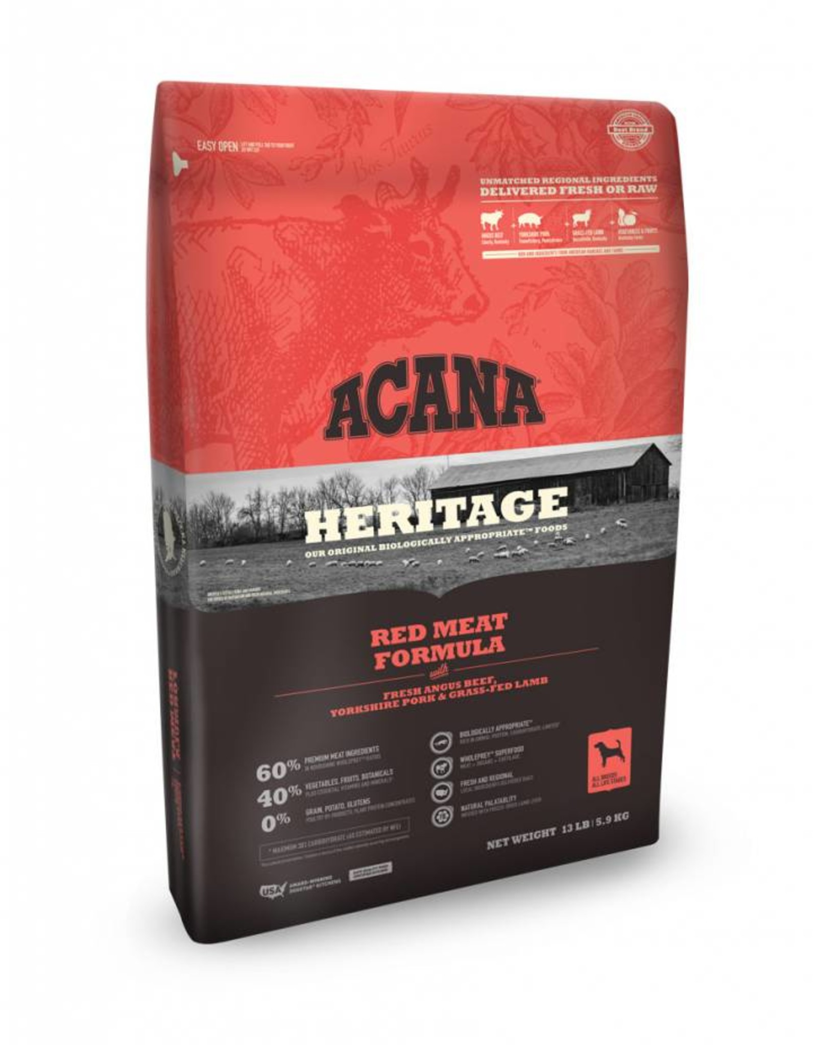 ACANA Acana Heritage | Red Meats Dog Formula