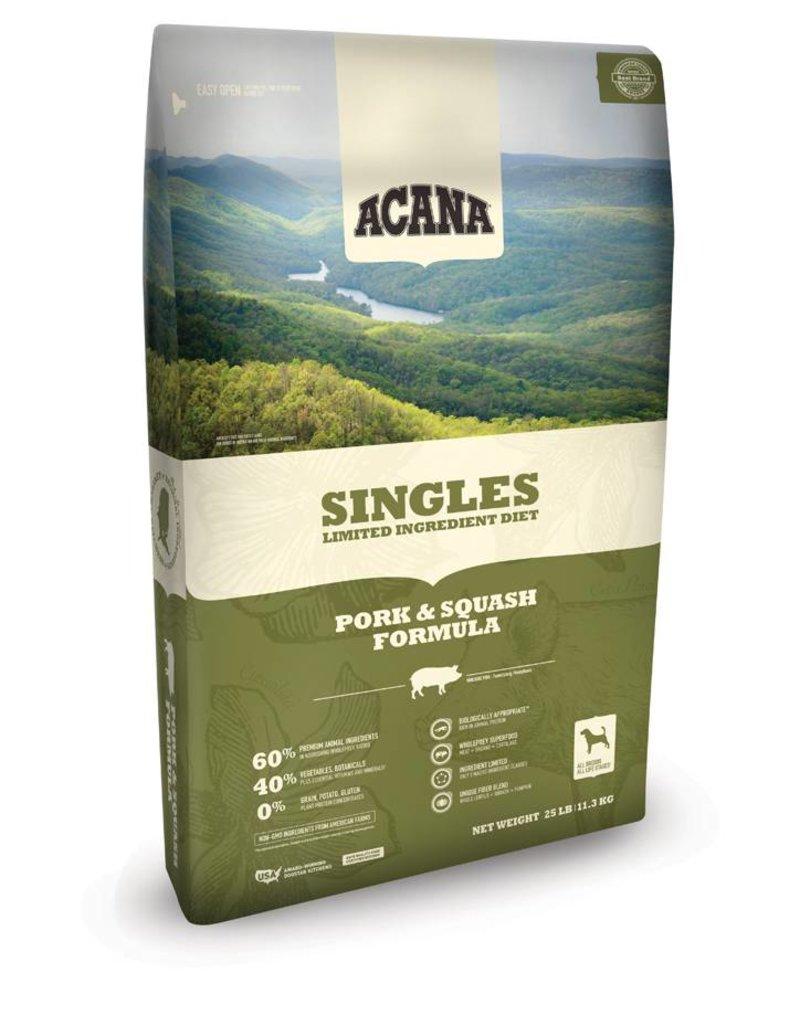 ACANA Acana Singles   Pork & Squash Dog Formula