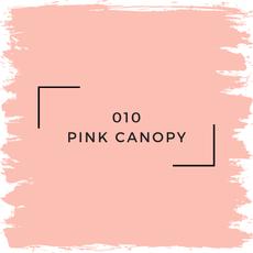 Benjamin Moore 010 Pink Canopy