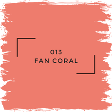 Benjamin Moore 013 Fan Coral