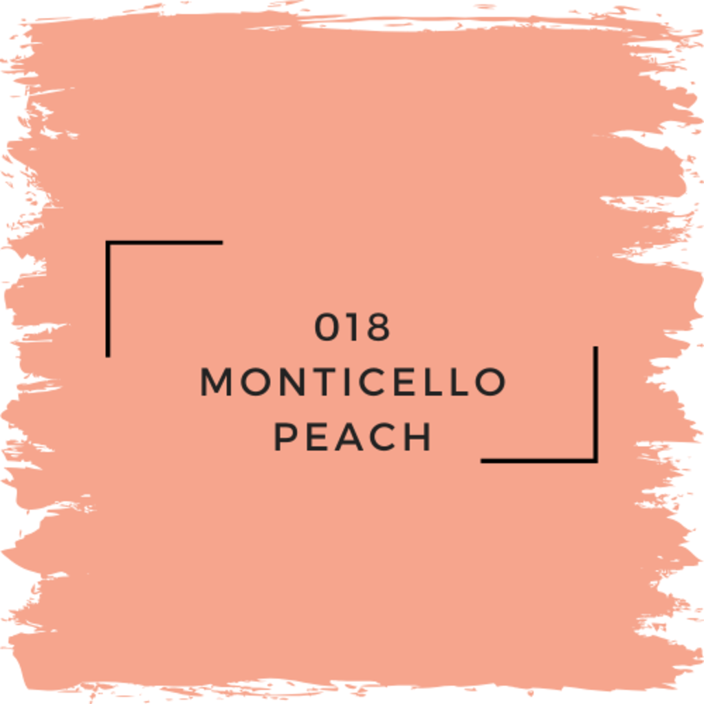 Benjamin Moore 018 Monticello Peach