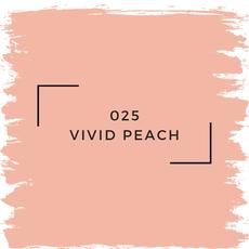 Benjamin Moore 025 Vivid Peach
