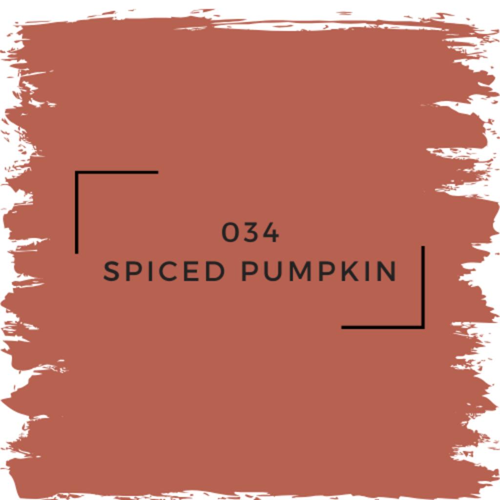 Benjamin Moore 034 Spiced Pumpkin