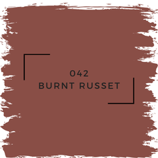 Benjamin Moore 042 Burnt Russet