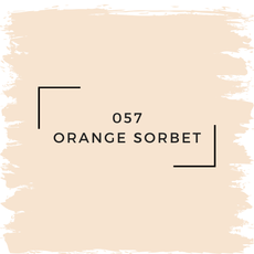 Benjamin Moore 057 Orange Sorbet