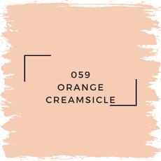 Benjamin Moore 059 Orange Creamsicle