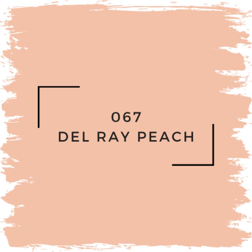 Benjamin Moore 067 Del Ray Peach