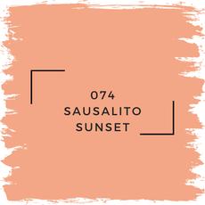 Benjamin Moore 074 Sausalito Sunset