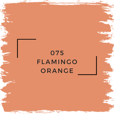 Benjamin Moore 075 Flamingo Orange