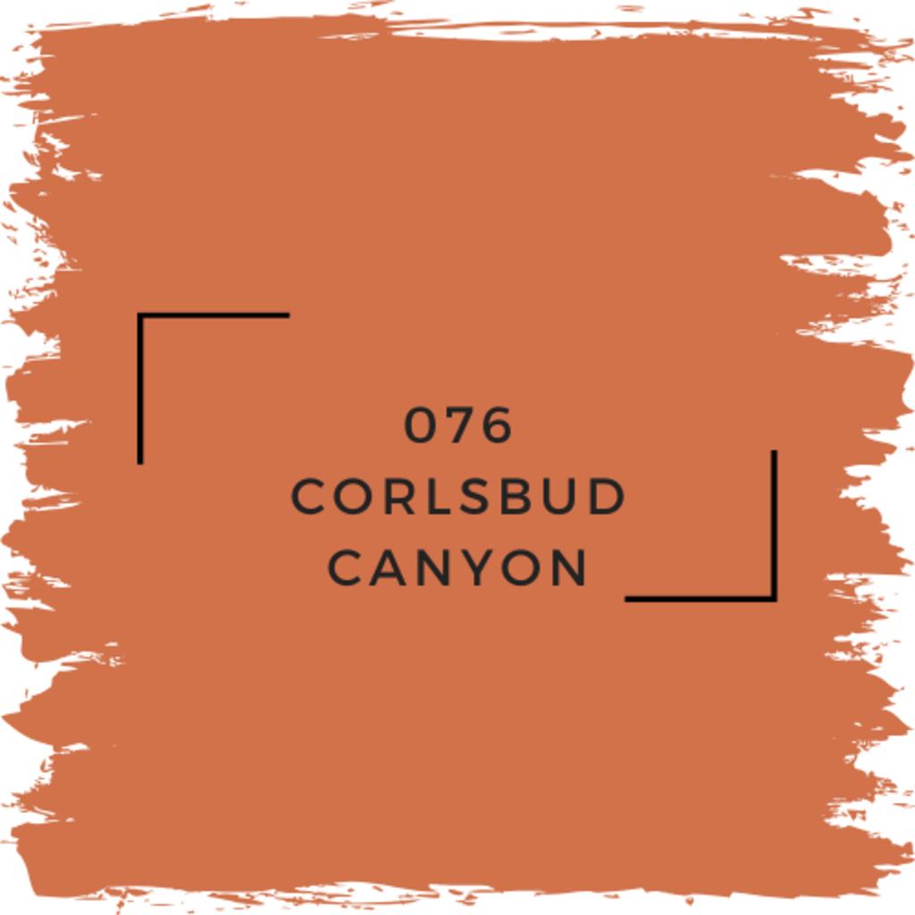 Benjamin Moore 076 Corlsbud Canyon