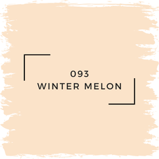 Benjamin Moore 093 Winter Melon