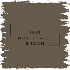 Benjamin Moore 1001 North Creek Brown