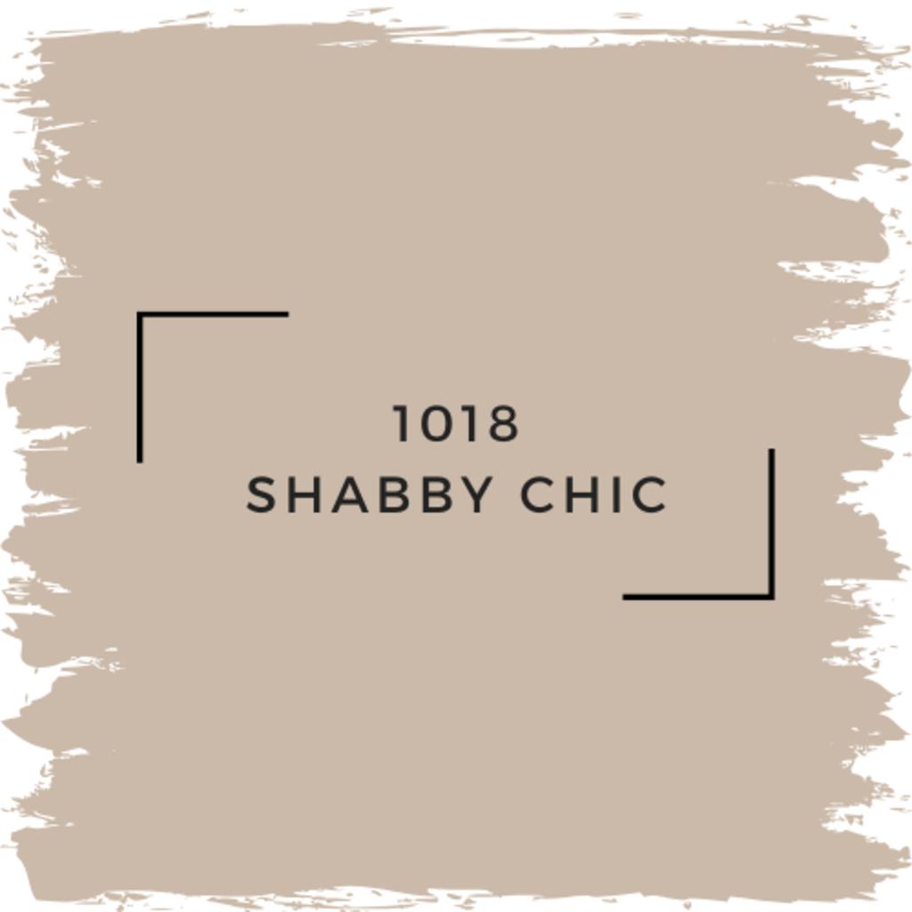 Benjamin Moore 1018 Shabby Chic