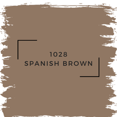 Benjamin Moore 1028 Spanish Brown