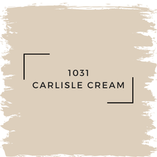 Benjamin Moore 1031 Carlisle Cream