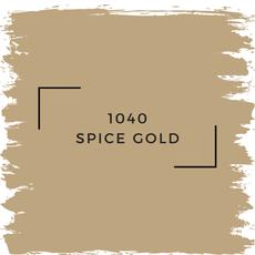 Benjamin Moore 1040 Spice Gold